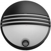 Philips 17297/30/16 Yarrow IR LED-es kültéri fali lámpa fekete 1x6W