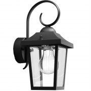 Philips 17236/30/PN Buzzard kültéri fali lámpa fekete 1xE27 max. 60W, kifutó