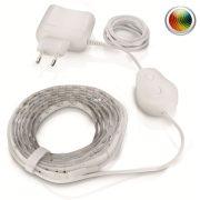 Philips 70101/31/P6 LightStrips RGB LED-szalag szett 8W 130lm IP20 20000h 2000mm + távvezérlő