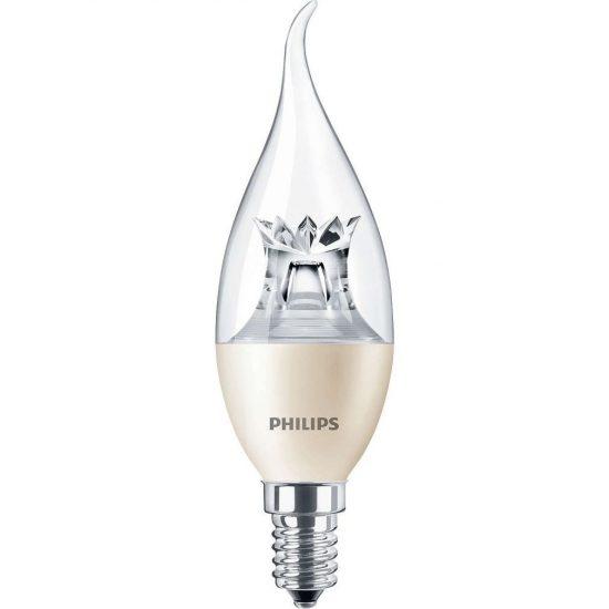 Philips Master LEDcandle DimTone E14 6W 2200-2700K BA38 CL LED