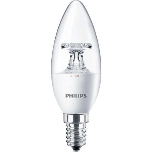 PHILIPS Corepro candle ND 5,5W E14 827 2700K B35 CL gyertya LED