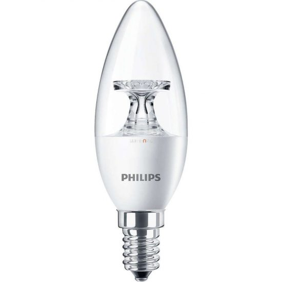 PHILIPS Corepro candle ND 4W E14 827 2700K B35 CL gyertya LED