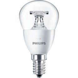 Philips Corepro luster ND 4W E14 827 P45 CL kisgömb LED