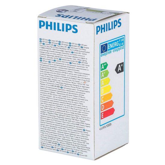 Philips Corepro luster ND 4W E14 827 P45 CL kisgömb LED