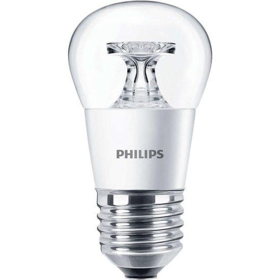 Philips CorePro Luster ND 4W E27 827 P45 CL kisgömb LED