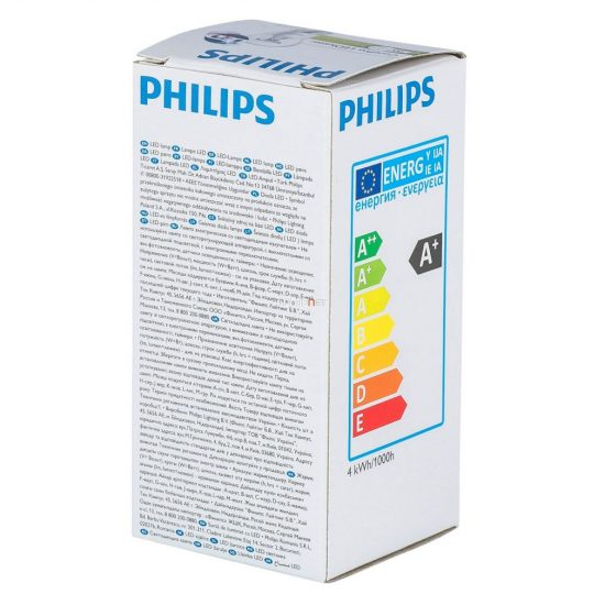 Philips CorePro Luster ND 4W E27 827 P45 CL kisgömb LED