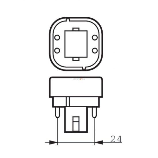Philips CorePro LED PLC 6,5W 840 4P G24q-2 ROT