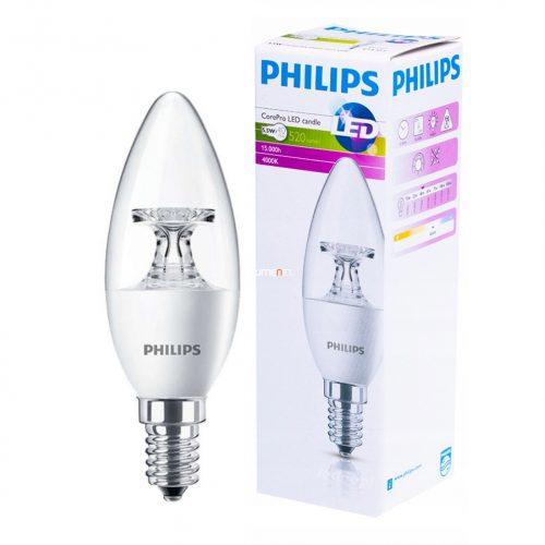Philips CorePro LEDcandle ND 5,5W E14 840 4000K B35 CL