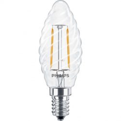 Philips Filament LEDcandle ND 2W E14 827 2700K ST35 CL