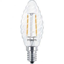 Philips Filament LEDcandle ND 2W E14 827 2700K ST35 CL