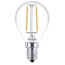 Philips Filament LEDluster ND 2W E14 827 2700K P45 CL