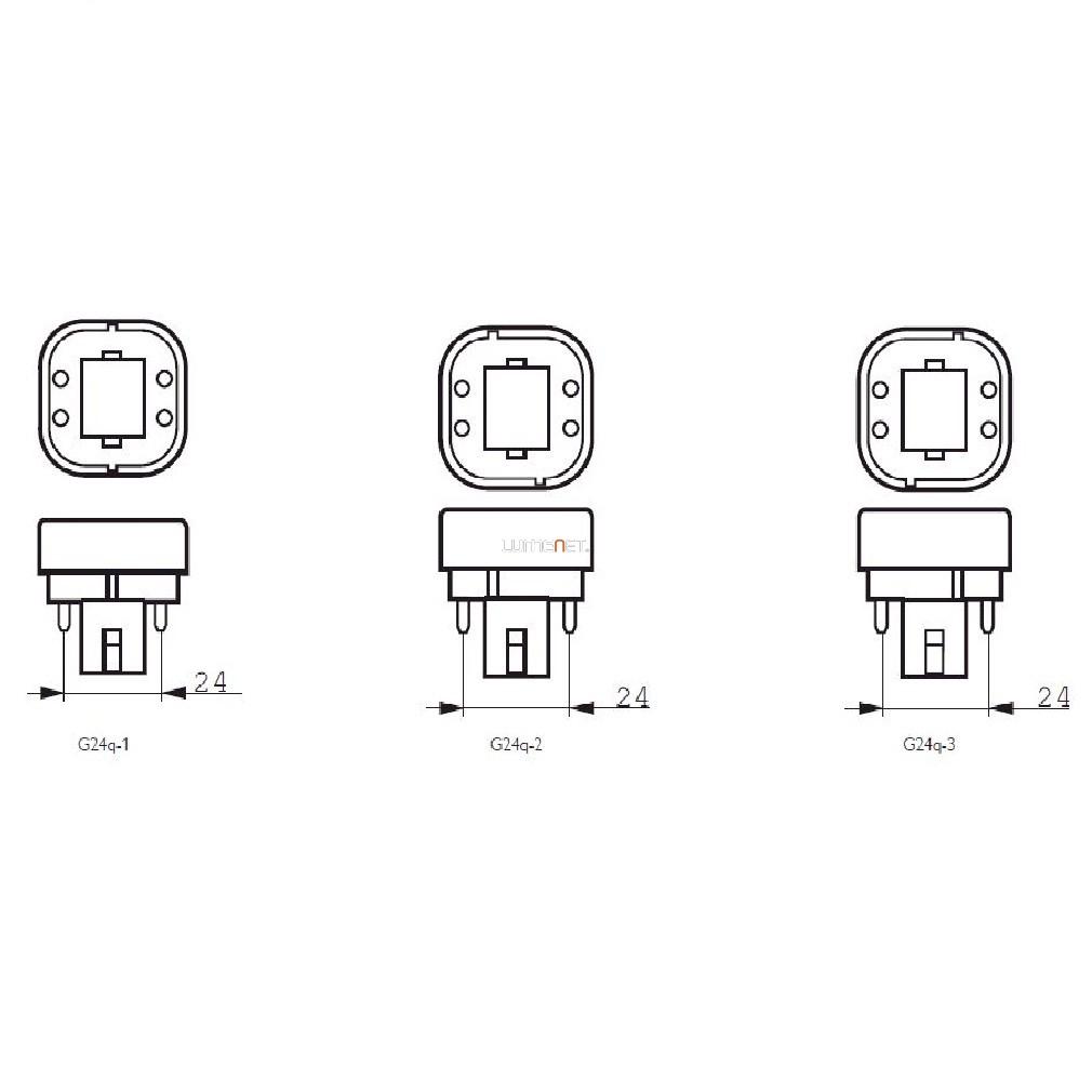 Philips Corepro Led Plc 4 5w 830 4p G24q 1 Rot Lumenet