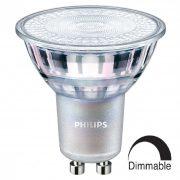 PHILIPS MASTER LEDspotMV Value D 3,7W GU10 827 60° 2700K