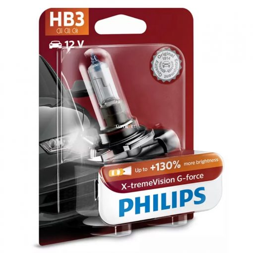 Philips X-tremeVision G-force HB3+130% 9005