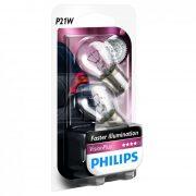 Philips P21W VisionPlus +60% 12498VPB2 2db/csomag