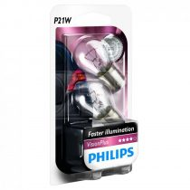 Philips P21W VisionPlus +60% 12498VPB2 2db/csomag