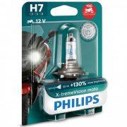 Philips X-tremeVision moto 12972XVBW +130% H7