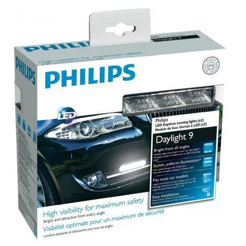 Philips LED Daylight 9 LED nappali menetfény 12831WLEDX1