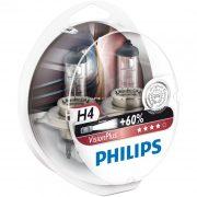 Philips H4 VisionPlus 12342VPS2 2db/csomag