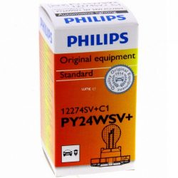 Philips PY24W SilverVision 12274SV+C1