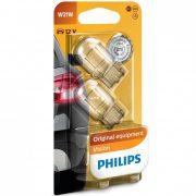 Philips Original Vision +30% 12065B2 W21W jelzőizzó 2db/csomag