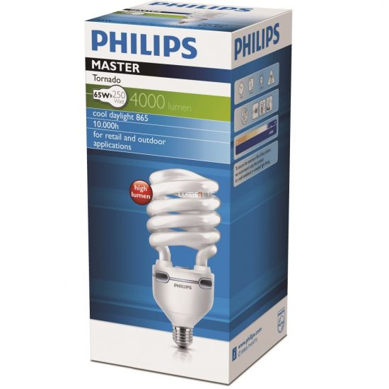 Philips TORNADO HIGH LUMEN 60W 865 6500K E27
