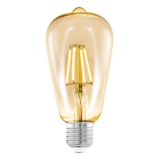 Eglo 11521 4W E27 ST64 LED filament 2200K
