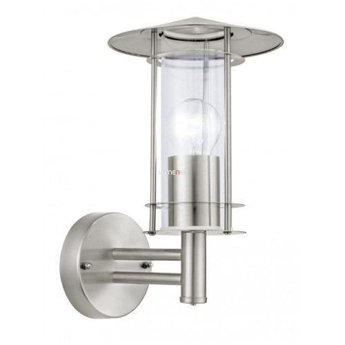 Eglo 30184 kültéri fali lámpa 1xE27 max.60W nemes acél Lisio