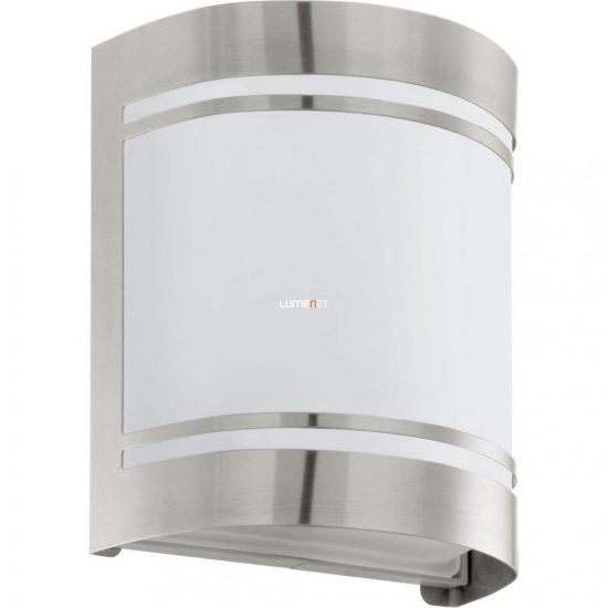 EGLO 30191 Kültéri fali 1xE27 max.60W nemesacél/opál IP44 Cerno