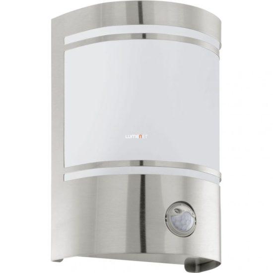 EGLO 30192 Kültéri fali 1xE27 max.40W szenzoros, nemesacél/opál IP44 Cerno