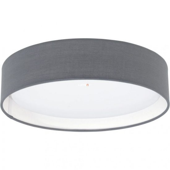 Eglo 31592 Pasteri szürke textil mennyezeti LED lámpa ø32cm