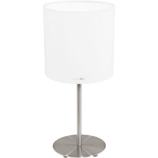 EGLO 31594 Textil Asztali lámpa 1xE27 max. 60W fehér Pasteri