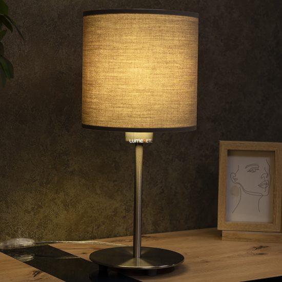 Eglo 31595 Pasteri tóp szürke textil asztali lámpa 1xE27 foglalattal