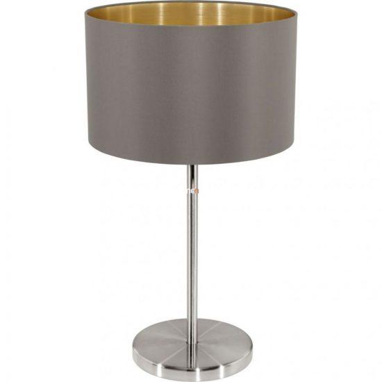 Eglo 31631 Maserlo cappuccino-arany textil asztali lámpa 1xE27 foglalattal
