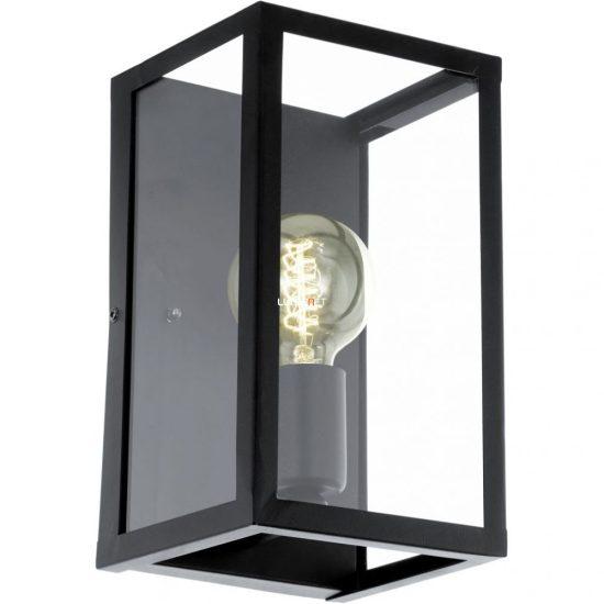 Eglo 49394 Charterhouse Fali 1xE27 max. 60W 16x25cm fekete/üveg