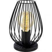 EGLO 49481 Asztali lámpa 1xE27 max. 60W fekete Newtown