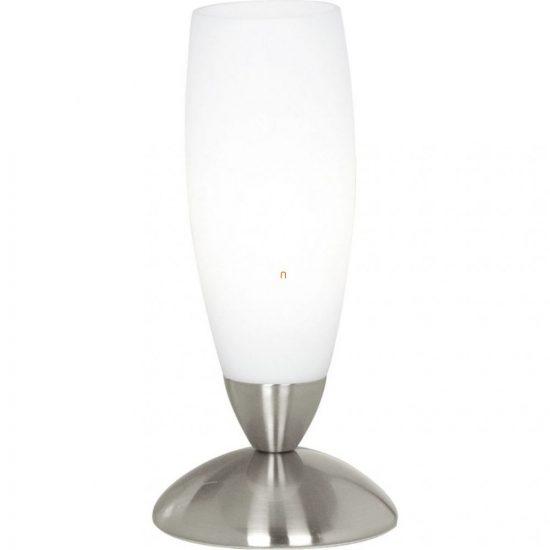 EGLO 82305 Asztali lámpa 1xE14 max. 40W mag:22cm matt nikkel/fehér Slim