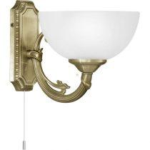 EGLO 82751 Fali lámpa 1x40W E14 húzókapcsolós bronz Savoy