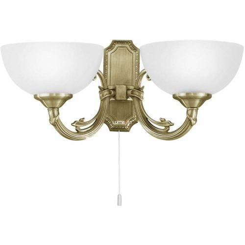 Eglo 82752 Savoy Fali lámpa 2x40W E14 húzókapcsolós bronz