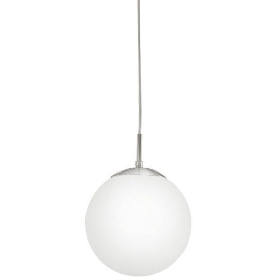 EGLO 85261 Függeszték 1xE27 max. 60W d:20cm matt nikkel/opál Rondo