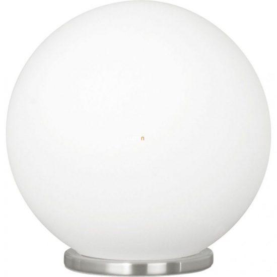 EGLO 85264 Asztali lámpa 1xE27 max. 60W d:20cm ezüst/opál Rondo