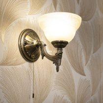 EGLO 85859 Fali 1xE14 max. 40W bronz/pezsgő Marbella