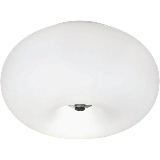 Eglo 86811 Optica mennyezeti 2x60W E27 átm:28cm matt nikkel/opál