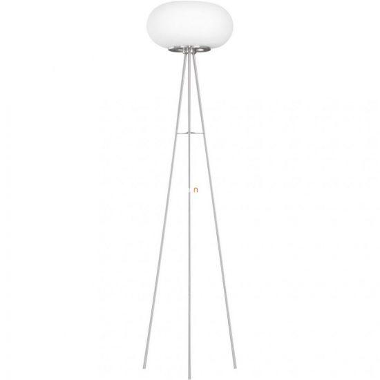 EGLO 86817 Állólámpa 2x60W E27 mag:157cm matt nikkel/opál Optica