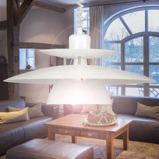 EGLO 87055 Húzós Függeszték 1xE27 max. 60W 43 cm fehér Brenda