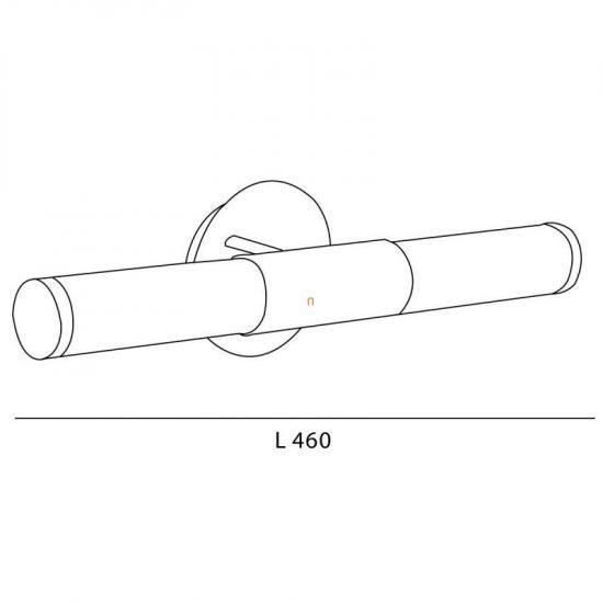 EGLO 87222 Fali lámpa 2xE14 max. 40W matt nikkel/opál Palmera