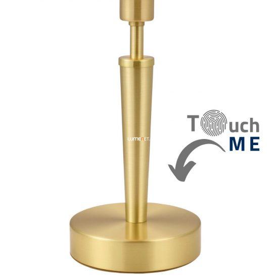 EGLO 87254 Asztali lámpa 1xE14 max. 60W mag:35cm matt réz érintőkapcsoló Solo 1