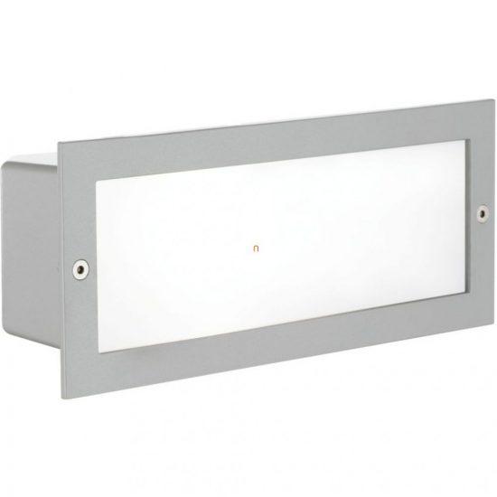 EGLO 88008 Kültéri falbaépíthető 1xE27 max.60W 10,1x24,3cm ezüst Zimba