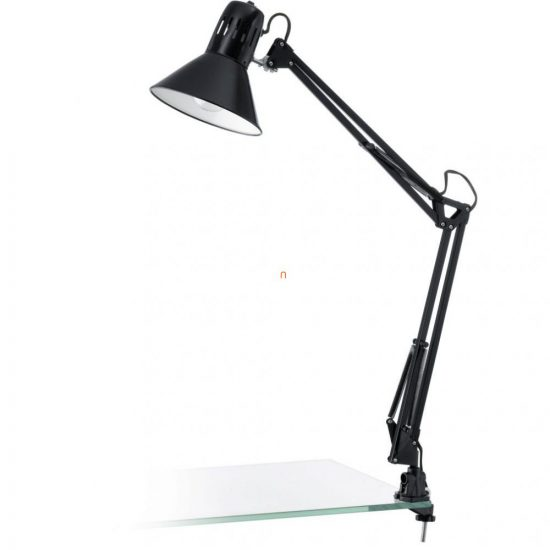 EGLO 90873 Satus Asztali lámpa 1xE27 max. 40W fényes fekete Firmo