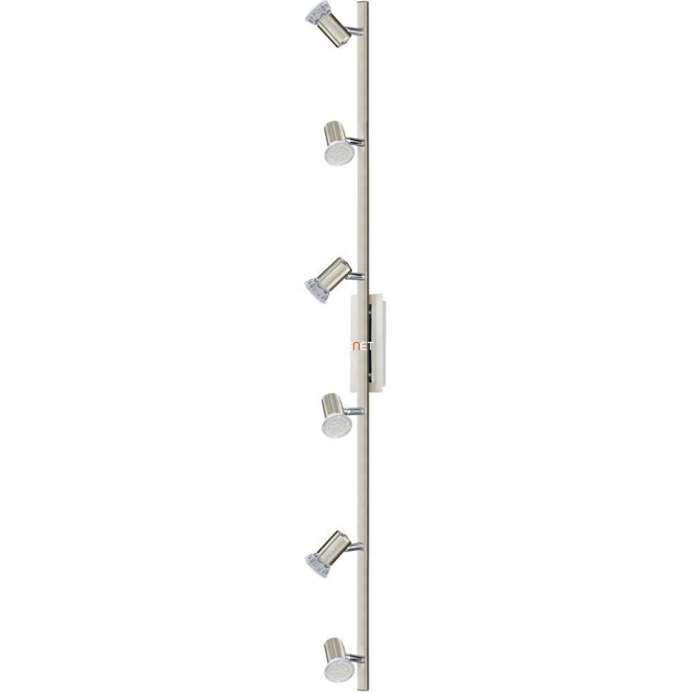 Eglo 90927 mennyezeti GU10 LED 6x3W matt nikkel/króm Rottelo